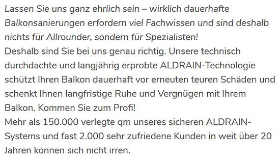 Balkongeländer in 71686 Remseck (Neckar), Waiblingen, Schwaikheim, Fellbach, Kornwestheim, Affalterbach, Ludwigsburg oder Korb, Marbach (Neckar), Erdmannhausen