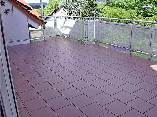 Terrassenerweiterung aus  Steinenbronn